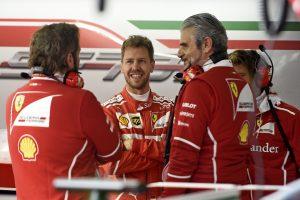 Arrivabene: Néha olyan Vettellel beszélni, mint Schumacherrel