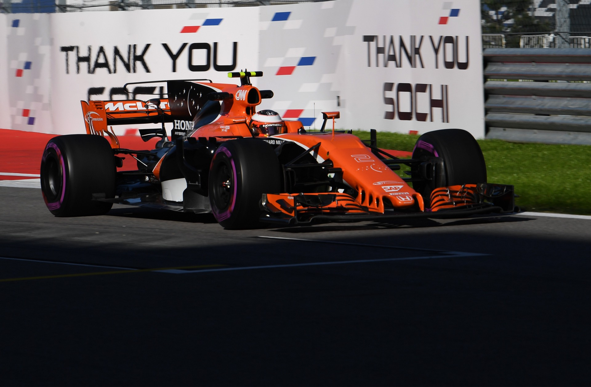 Russian Grand Prix Practice
