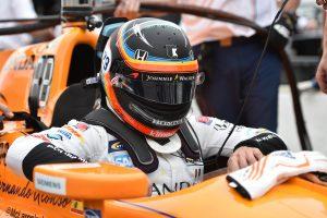 Alonso ma tesztel az IndyCarban