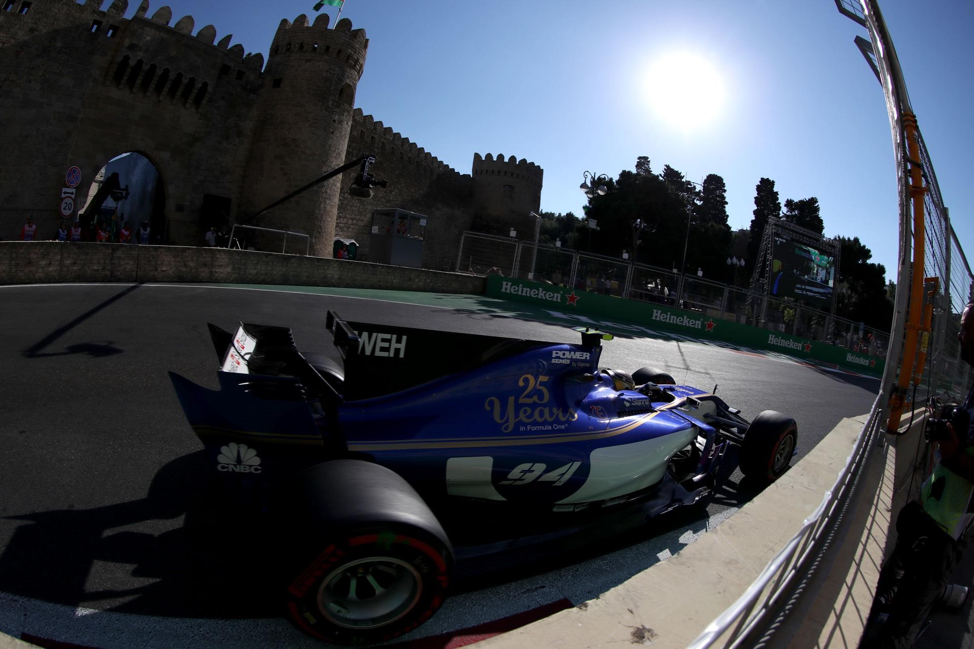 Azerbaijan GP Race 25/06/17