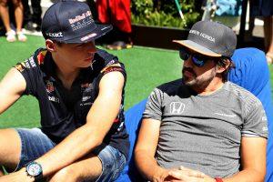 Verstappen: Azt sajnálom, hogy nem küzdhettem Alonso ellen