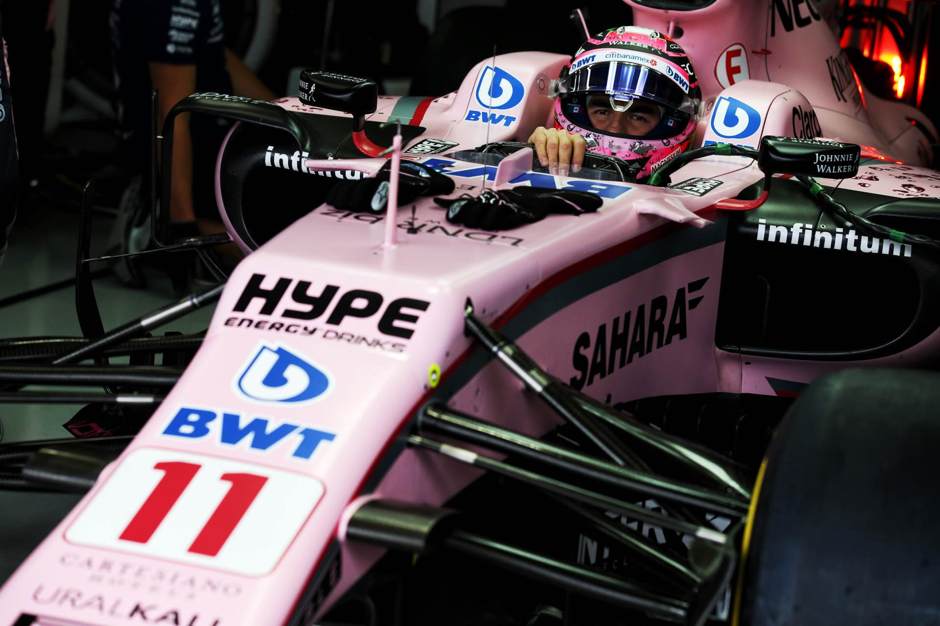 Motor Racing - Formula One World Championship - Brazilian Grand Prix - Qualifying Day - Sao Paulo, Brazil