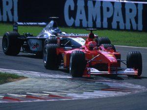 Häkkinen is köszöntötte a születésnapos Schumachert