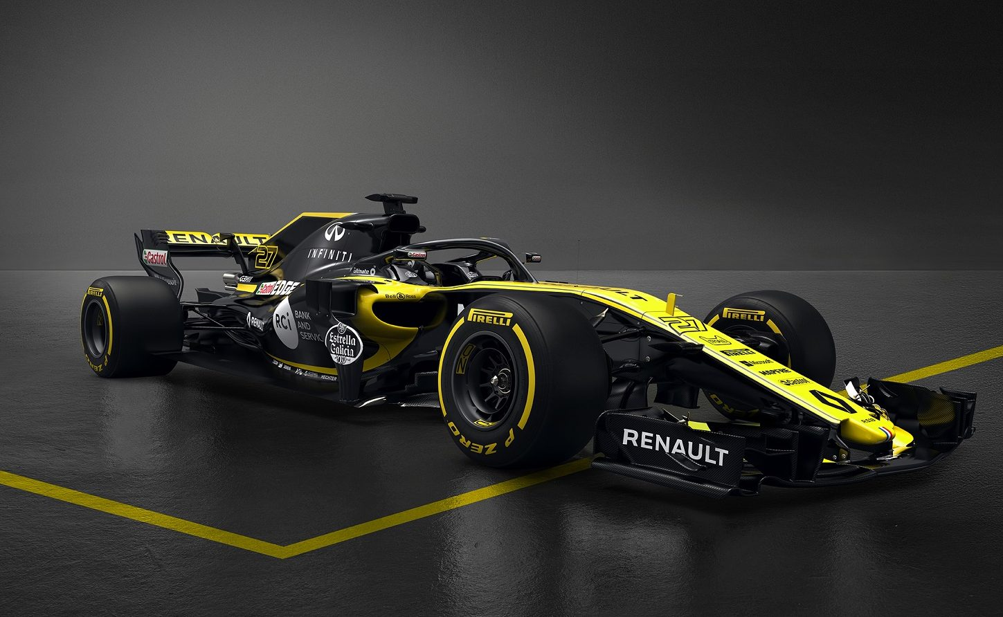 Motor Racing - Formula One Launch - Renault Sport Formula One Team R.S.18 Launch - London, England