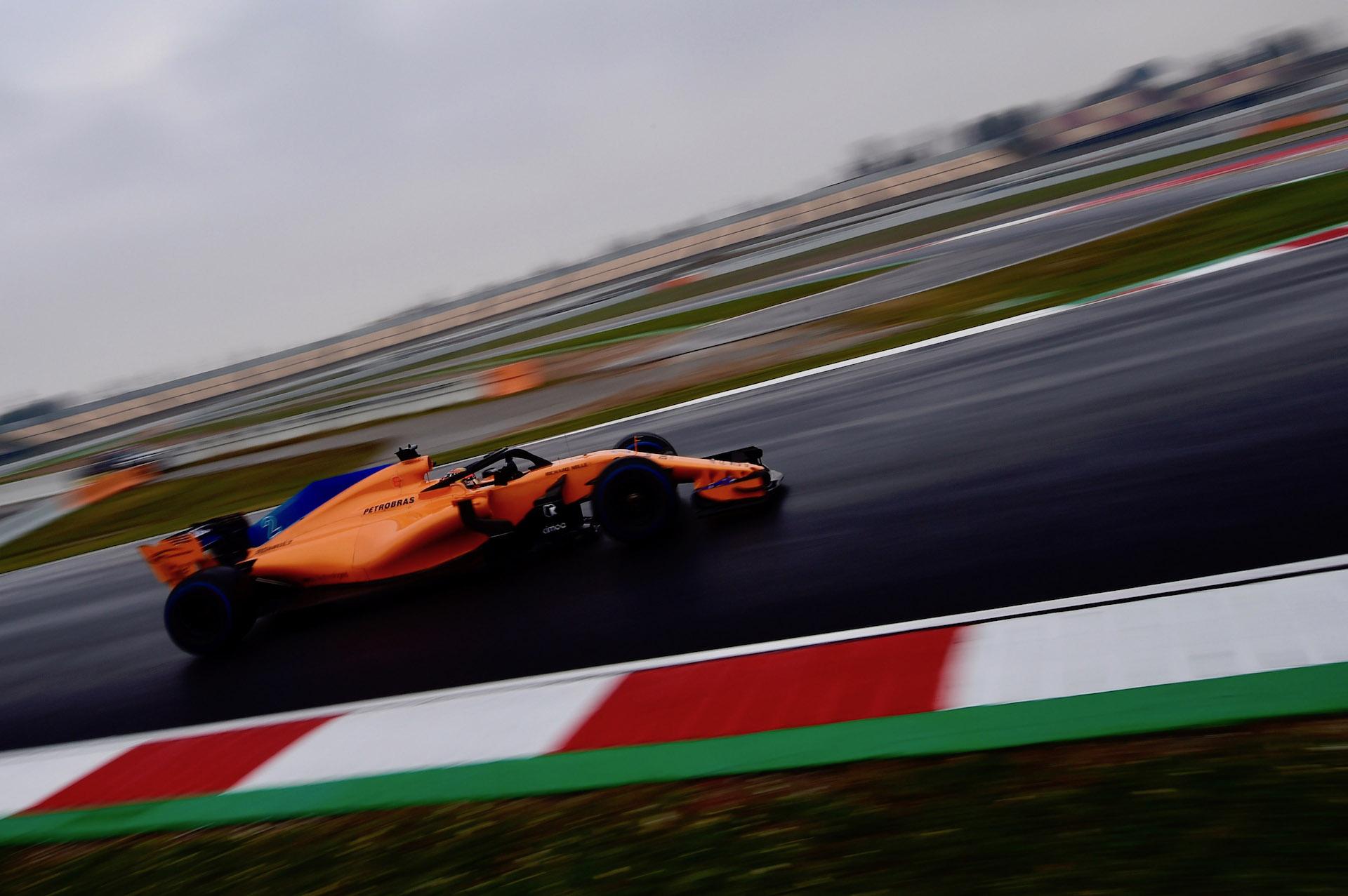 F1 Testing Day Four