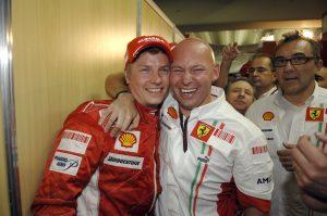 Fotók: Így búcsúzik a Ferraritól Räikkönen trénere