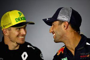 Hülkenberg örül Ricciardo érkezésének