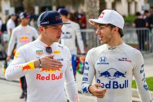 Verstappen is üdvözölte Gaslyt a Red Bullnál