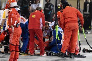 Újra munkába állt a szerelő, akit Räikkönen még tavasszal ütött el
