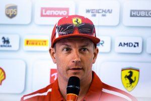 Fotó: Räikkönen becsomagolt a Belga Nagydíjra