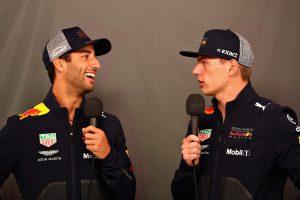 Verstappen: Ricciardo a haverom marad