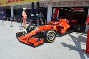 A Ferrari az élen a hungaroringi teszten