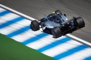 Az F1-es Német Nagydíj rajtrácsa