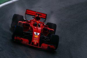 Vettel: Esőben nem vagyunk olyan jók, mint szárazon