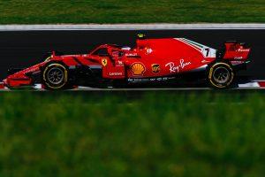 Räikkönen odapörkölt, ő a leggyorsabb a második belga edzésen