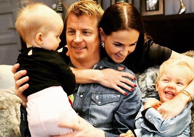 Kimi Räikkönen, Minttu Räikkönen, Robin Räikkönen, Rianna Räikkönen