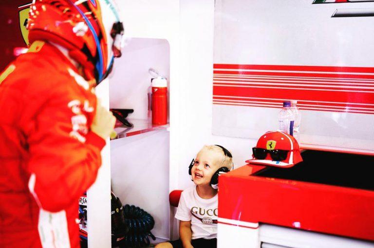 Kimi Räikkönen & Robin Räikkönen