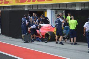 Nem semmi, ahogy Kubica autója kinézett az F1-es teszten