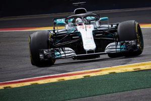 Videó: Hamilton pole-köre Belgiumból