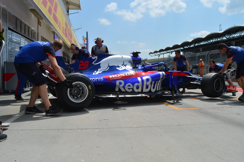 Hungaroring, in-season test, Day 2, Brendon Hartley Toro Rosso