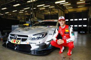 Fotók: Mick Schumacher kipróbálta a Mercedes DTM-autóját