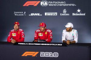 Az F1-es Olasz Nagydíj rajtrácsa