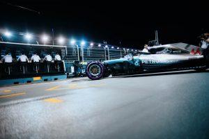 Az F1-es Szingapúri Nagydíj rajtrácsa