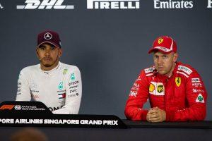 Hamiltont meglepte Vettel és a Ferrari visszaesése