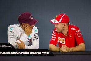 Vettel: Ha Hamilton az űrbe vágyik, ott is maradhatna
