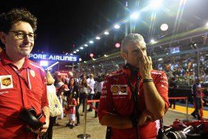 Arrivabene: A Ferrari összes hibájáért vállalom a felelősséget
