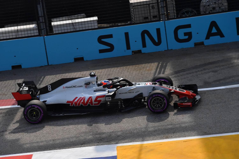 Singapore Grand Prix Practice
