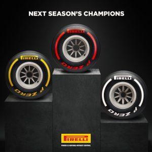 Újít a Pirelli: Csak 3 színű abroncs lesz 2019-től
