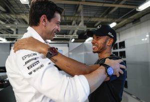 Wolff: Fogalmam nem volt róla, hogy Hamilton motort tesztel
