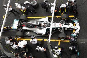 A Mercedes nem tudott felhőtlenül örülni Hamilton vb-címének