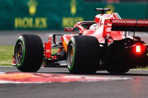 Az F1-es Mexikói Nagydíj rajtrácsa