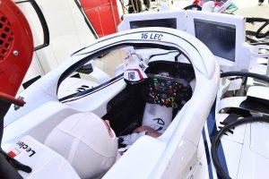 Súlyos sérüléstől menthette meg Leclercet a 'Halo'