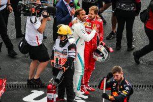 Hamilton elárulta, mit mondott neki Vettel a vb-diadal után