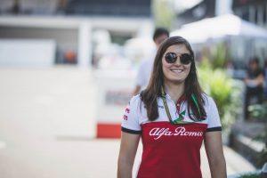 Újabb nő F1-es autóban: Calderón a Saubert vezetheti!