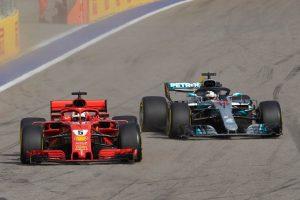 Hamilton: Ha nem fékezek, összeütközünk Vettellel