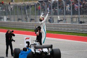 Az F1-es Amerikai Nagydíj rajtrácsa