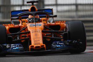 Sainz elárulta, milyen volt az első nap a McLarennél