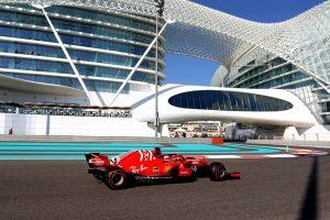 Az F1-es Abu Dhabi Nagydíj végleges rajtrácsa