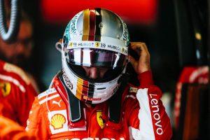 Vettel autót tört, így nem teljesen elégedett