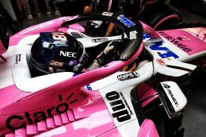 Élő közvetítés a Racing Point F1-es bemutatójáról