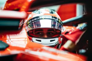 Leclerc: Érdekes volt nézni, ahogy Vettel vezet