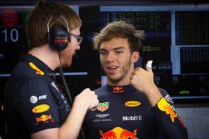Gasly is bemutatkozott a Red Bull idei overáljában