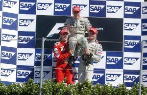 Ritkán látott fotó: Häkkinen és Schumacher még a vb-címek előtt!