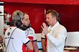 Fotók: Räikkönen már az Alfa Romeo színeiben