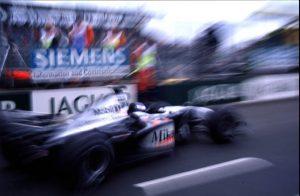 Häkkinen szerint ez az egyik legszebb fotó a 2000-es McLarenről