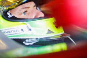 Schumacher az Alfa Romeo autójával tesztel